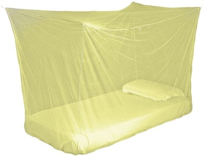 Sunflower Products Orange Double Bed Mosquito Net 1+1 Mosquito Net(Orange)