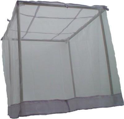 V. K. Enterprise HDPE - High Density Poly Ethylene Adults 6-6 X 6-6 White Hdpe Mosquito Net(White)