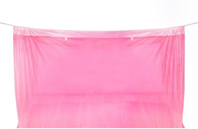 Sunflower Products Pink Double Bed Mosquito Net Mosquito Net(Pink)