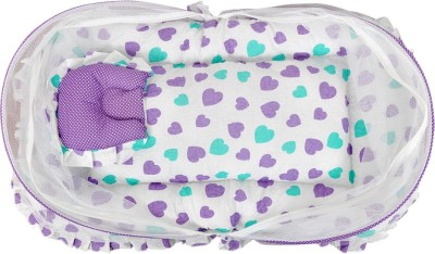 Orange and Orchid Baby Bedding Mosquito Net