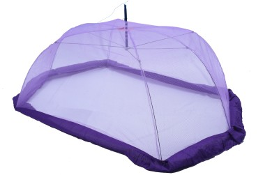 Riddhi Riddhi purple baby mosquito protection umbrella with border Mosquito Net