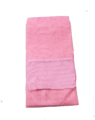 ans 3.25 x6.25 ft single bed polyster pink soft Mosquito Net