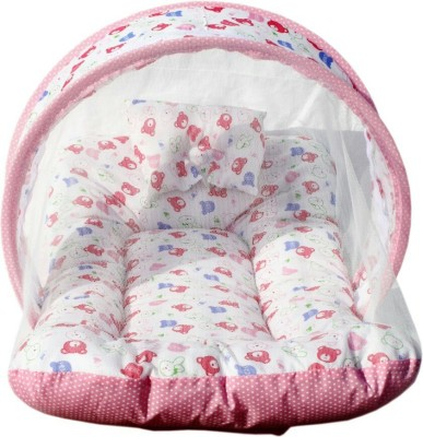 Chinmay Kids Cotton Padded Beddimg Net Mosquito Net
