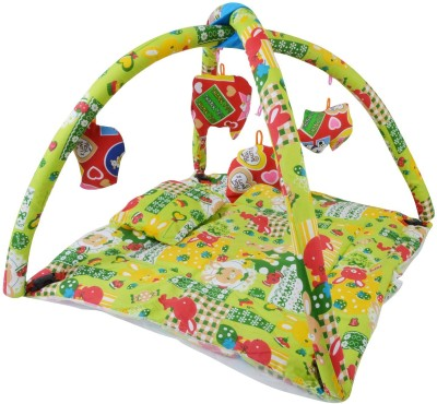 CHHOTE JANAB BABY PLAY GYM WITH MOSQUITO NET(Green)