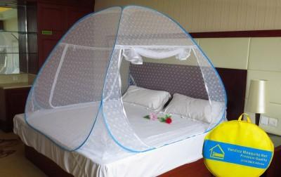 Verdioz Jacquard blue Mosquito Net