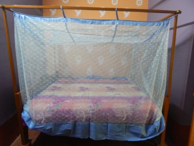 L N Bedding Polo Blue Mosquito Net