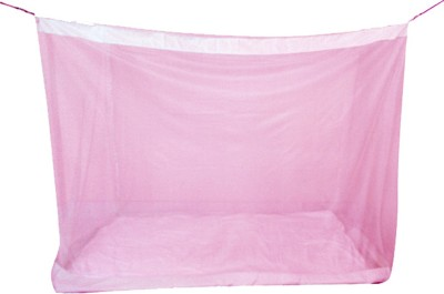 Mosnet 4.5*6.5 Feet Polynet Hanging Mosquito Net(Pink)