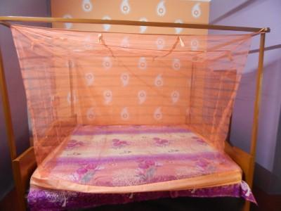 L N Bedding Nylon Pink Mosquito Net