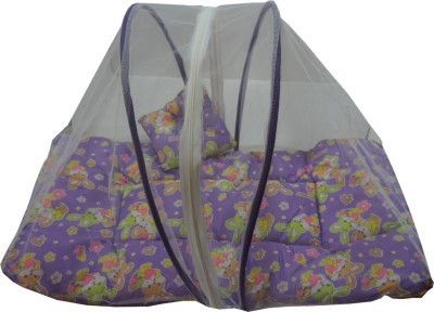 Muren Baby bedding Set Mosquito Net - Rabit Mosquito Net(Purple)