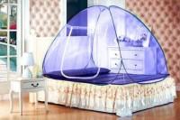 Trioflextech Double Bed Mosquito Net(Purple)