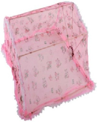 CHHOTE JANAB MOSQUITO PROTECTOR NET Mosquito Net(PINK)