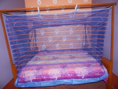 L N Bedding Nylon Blue Mosquito Net