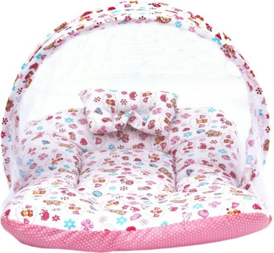 Chinmay Kids Cotton Padded Bed Net Mosquito Net
