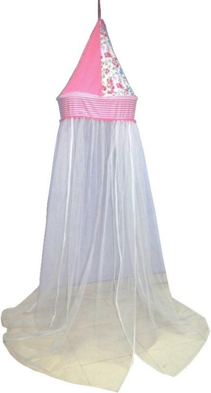Creative Textiles Nylon Kids Flowers Mosquito Net(White)