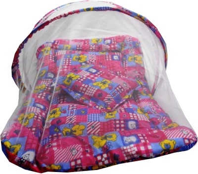 SILVER STONE mosquito net bed set pink teddy Mosquito Net