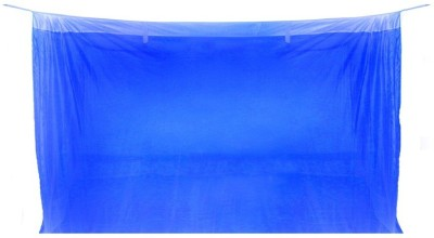 Sunflower Products Blue Double Bed Mosquito Net 1+1 Mosquito Net