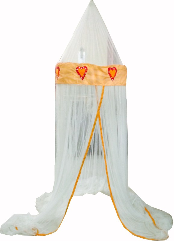 Creative Textiles Nylon Kids UMBRELLA Mosquito Net(Orange)