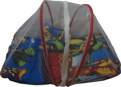 Muren Baby Bedding Set with Mosquito Net - Motu Patlu Mosquito Net