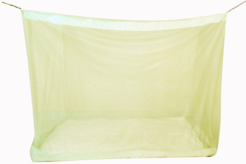 Elegant Polynet Mosquito Net provides total insect protection. This design really is the best available. It is an easy care, machine washable and 100% natural Polynet. Infants 3.5x6.5 Feet Polynet Single Bed Mosquito Net(Yellow)