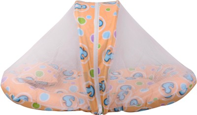 Orange and Orchid Duck Printed Cotton Bedding Set