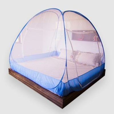 Prc net Prc Doubled Bed Mosquito Net(Blue Premium)