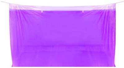 Sunflower Products Purple Double Bed Mosquito Net Mosquito Net