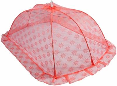 Stuff Jam Mosquito Plain Net Mosquito Net(Pink)