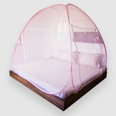 Prc net Double bed Pink mosquito net Mosquito Net