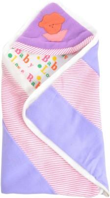 Royal Shri Om Hooded Baby Wrapper Printed