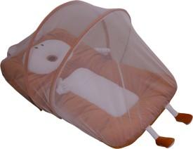 Amardeep Cotton Infants Amardeep Baby Mattress with Mosquito Net Mosquito Net(Brown)