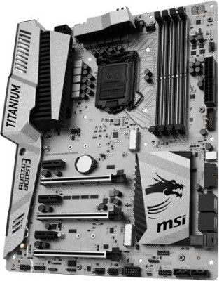 MSI Z170A M POWER GAMING TITANIUM EDITION Motherboard(Grey)