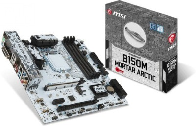 MSI B150M MORTAR ARCTIC Motherboard(Grey)