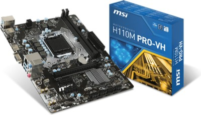 MSI H110M Motherboard