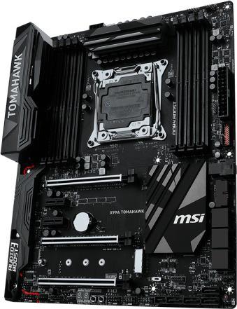 MSI X99A TOMAHAWK Motherboard(Black)