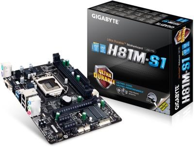 Gigabyte GA-H81M-S1 Motherboard