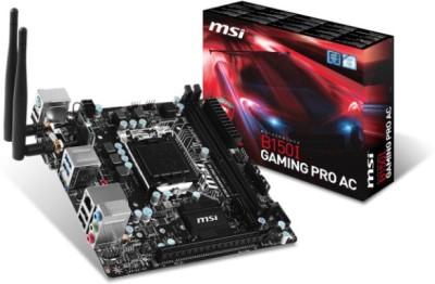 MSI B150I GAMING PRO AC Motherboard(Black)