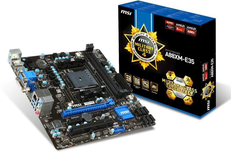 MSI A88XM-E35 Motherboard