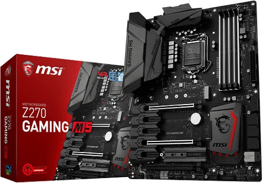 MSI Z270 GAMING M5 Motherboard(Black)