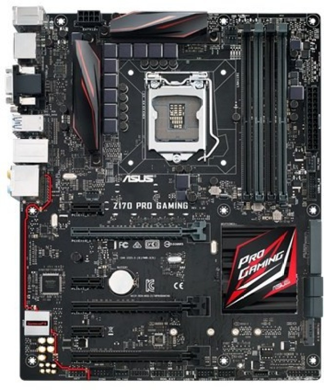 Asus Z170-PRO-GAMING Motherboard(Black)