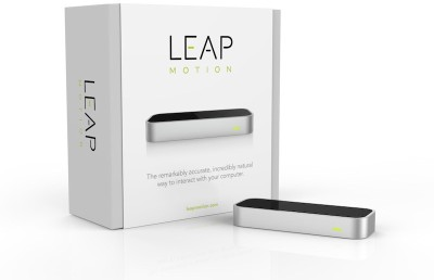 Leap Motion Virtual Reality Gesture Mouse / Keyboard Motion Controller(Silver, For PC)