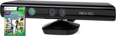 Microsoft Kinect Sensor for Xbox 360 (Free Kinect Sports Season 2) Motion Controller(Black, For Xbox)
