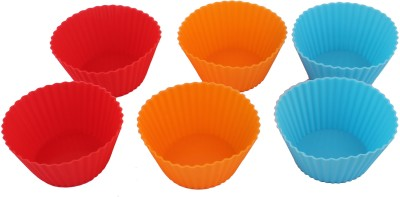 Kosh 6 - Cup Cupcake/Muffin Mould(Pack of 6)