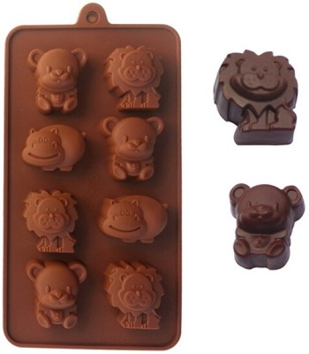 Krishna Devi Traders LLP 8 - Cup Chocolate Mould