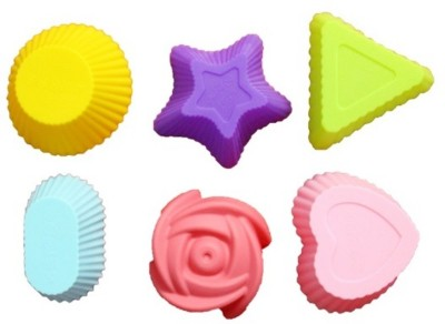 Play Grow Soft Silicone Muffin Cake Mould