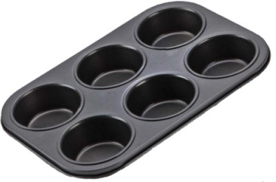 Alda Muffin 6 - Cup Cupcake/Muffin Mould(Pack of 1)