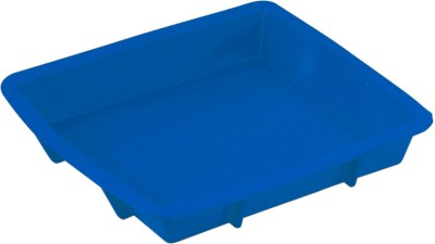 Silico 9 inch Square Silicone Bakeware Cake Pan Mold - Blue 1 - Cup Mould