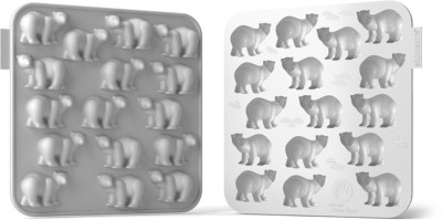 Silicone zone Silicone Zone - Polar Bear Chocolate Mold - White 16 - Cup Mould Tray