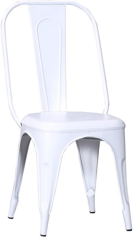 View Shri Maharaj Wrought Iron Moulded Chair(Finish Color - Peppy White Set of - 1) Furniture (Shri Maharaj)