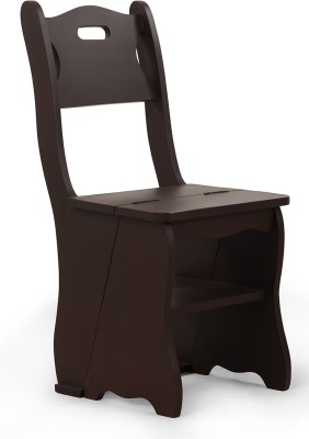 ARRA HDF Moulded Chair(Finish Color - Walnut Set of - 1)