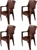 ATTRO PP Moulded Chair (Finish Color - B...